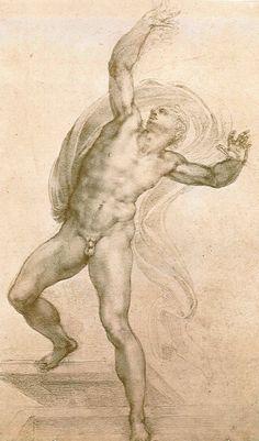 Michelangelo Buonarroti The Risen Christ ca. 1532 The Royal Collection