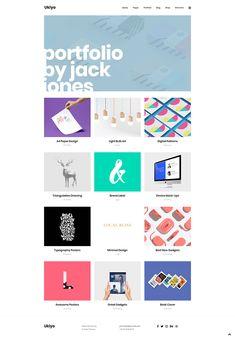 Get Ukiyo WordPress theme today and create a portfolio your work deserves!  #wordpress #theme #design #webdesign #uxdesign #uidesign #creative #portfolio #designer #freelancer #creativeagency #designstudio #marketingagency #gallery #digital