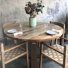 Sweet Home, Dining Table, Furniture, Home Decor, Wood Boards, Solid Wood, Corten Steel, Decoration Home, House Beautiful