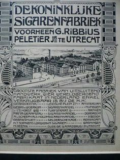 Je bent Utrechter: sigarenfabriek Ribbius