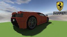Ferrari Scuderia minecraft building ideas 3 – Minecraft Building Inc Ferrari F430, Minecraft, Monster Trucks, Building Ideas, Car, Vehicles, Templates, Automobile, Stencils