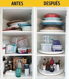 18Ideas decómo organizar las cosas para que siempre estén alamano