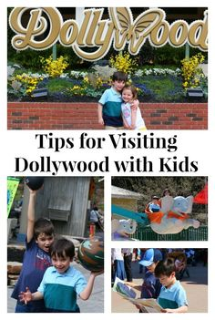 Great post about visiting Dollywood with little kids