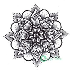 New Style Mandala Tattoo Design
