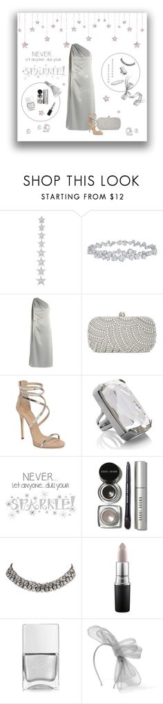 """Silver Sparkles"" by tre0911 ❤ liked on Polyvore featuring MARBELLA, Elise Dray, Harry Winston, Osman, INC International Concepts, Giuseppe Zanotti, Marc Jacobs, Wall Pops!, Bobbi Brown Cosmetics and Carrera y Carrera"