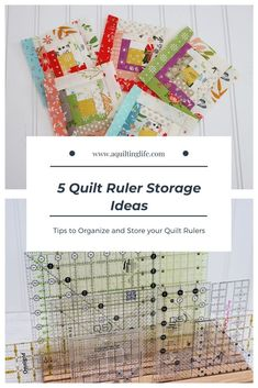 Quilt Ruler Storage Ideas featured by Top US Quilting Blog, A Quilting Life Quilting Rulers, Quilting Tips, Quilting Projects, Sewing Projects, My Sewing Room, Sewing Rooms, Sewing Room Organization, Organization Hacks, Sewing Studio