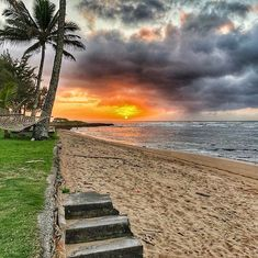 Just got in from surfing at Walls in #Haleiwa one of my old stomping grounds. Rode my last few sets into the golden rays of the setting sun and then caught this shot right as I came in to the beach. Even with all the challenges of feeling what my Dad is going through I feel so blessed to be here supporting him and nourishing my #Pleiadian side who loves to play in the #Ocean. #Sunset #Magic #SurfsUp #Blessings #NorthShore #Oahu