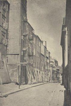 Warszawa, ul. Brzozowa, fot. Tadeusz Przypkowski (1935) Warsaw Uprising, Poland History, Ul, Krakow, Abandoned, Polish, Places, Weather, Warsaw