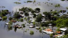 Überschwemmungen in Paraguay (Foto: Reuters).