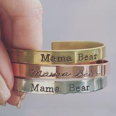 """""""Mama Bear"""" Cuffs"""