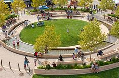 uptown normal circle > civic design > HOERR SCHAUDT landscape architects