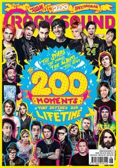 To celebrate our two hundredth issue, we've put together a big ol' list of the 200 moments that defined our lifetime, featuring the greatest photos and interviews with the biggest names about the stories, the albums and the gigs that mattered most.  Starring: My Chemical Romance, All Time Low, You Me At Six, Bring Me The Horizon, Paramore, Black Veil Brides, Green Day and LOADS more.