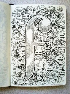 DOODLE ART: F is for Fun! by kerbyrosanes