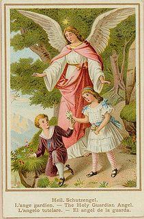 Anjo da Guarda by altares privados, via Flickr