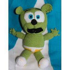 Amigurumi Cars Rayo Mc Queen Gummy Bear Gominola Crochet