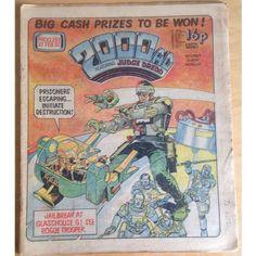 2000 AD #253 27/02/82 UK Paper Sci Fi Comic