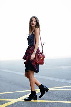 FASHIONVIBE: Dark Blue | 3.1 Phillip Lim Pashli Mini Satchel | Love the back of this outfit too!