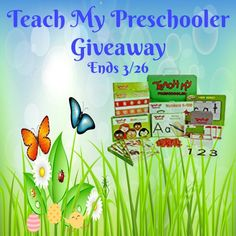 Nish Homeschool Blog : Teach My Preschooler Giveaway Ends 3/26 @SMGurusNe...