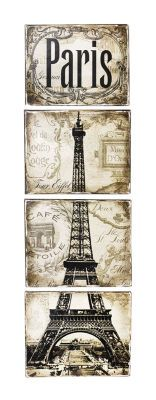 Paris Canvas Wall Art by Americana®, large
