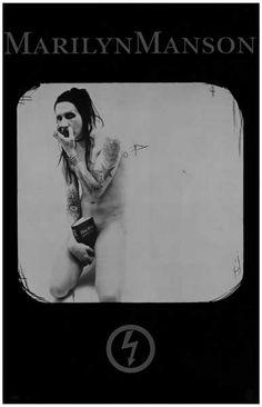 Marilyn Manson Bible Banger Music Poster 11x17