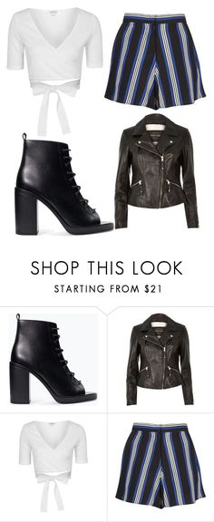 """""""Untitled #1544"""" by chaoticaphrodite ❤ liked on Polyvore featuring Zara, River Island and Topshop"""