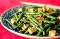 Szechuan Green Beans And Tofu Gluten-Free Vegan Recipe - Genius Kitchensparklesparkle