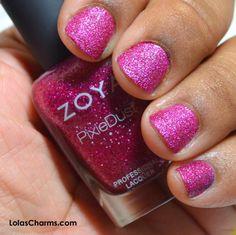 Lola's Charms: Review: Zoya Arabella & Dhara