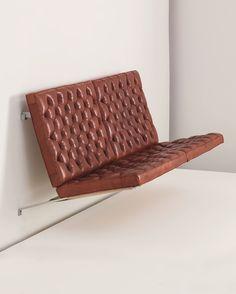 vdvintagedesign: Suspended sofa, model PK 26 - Poul Kjærholm (1956)