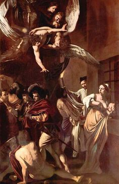 """Sete atos de misericórdia"", Caravaggio. / ""Pio Monte Della Misericordia"", Caravaggio."