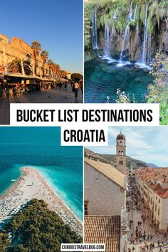 Croatia must visit destinations include walled cities like Dubrovnik to Roman ruins in Split, Zadar, and Pula. With everything from top island destinations to the best coastal cities and National…More Pula, Croatia Itinerary, Croatia Travel Guide, Destination Voyage, European Destination, European Travel, Travel Europe, Usa Travel, Bucket List Destinations