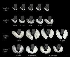 vega-ofthe-lyre: LOOK. IT'S AN INFOGRAPHIC FOR RUFFS. This coming from the fantastic French blog La costume historique