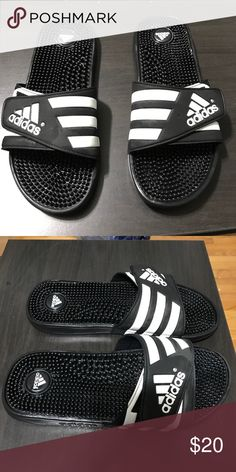 170d9312364 Adidas flip flops size 10 Adidas flip flops size 10 barely used adidas  Shoes Sandals