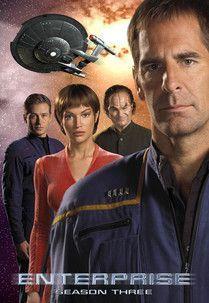 TV or Movie Poster of the Week: Star Trek: Enterprise - Season 3 Poster Star Trek Tv Series, Sci Fi Tv Series, Star Trek Characters, Star Trek Movies, Akira, Deep Space Nine, Star Trek Images, Star Wars, Star Trek Universe