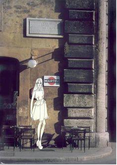 italian street sketch 2