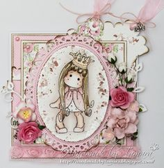 magnolia stamps and dies | Although this is not a typical baby card I think it's just right for ...