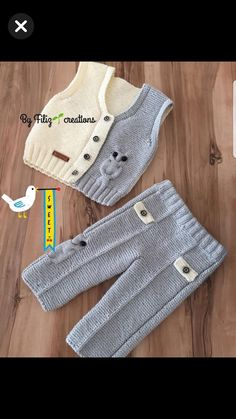 Best 12 Baby romper set crochet pattern Newborn boy romper overalls Outfit beige overall Baby dragon diaper cover Baby home outfit Baby girl Newborn Crochet Patterns, Baby Boy Knitting Patterns, Knitting For Kids, Baby Patterns, Baby Knitting, Free Knitting, Baby Vest, Baby Pants, Baby Cardigan