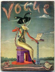 // Vogue Paris 1947 May Christian Bérard Lila de Nobili Coltellacci Descombes Gjon Mili Louise de Vilmorin