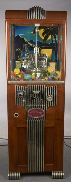 Merchantman Digger Claw Machine, 1933