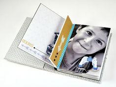 """Un superbe mini de LILOU avec les papiers """"photographie"""" de Toga....A voir !!! http://lilouscrappe.over-blog.com/article-mini-album-photo-pour-toga-121934627-comments.html#anchorComment"""