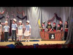 Ladánybene Ovi, Katica Csoport - Kis tengerészek - YouTube Diy And Crafts, Youtube, Songs, Day, Pirates, Environment, Carnival, Youtubers, Youtube Movies