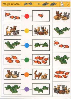 visuele discriminatie voor kleuters / preschool visual discrimination Fine Motor Activities For Kids, Educational Games For Kids, Preschool Learning, Teaching, Visual Perception Activities, Sequencing Cards, Nursery School, Autism Classroom, Literacy Skills