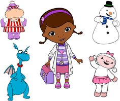 Krafty Nook: Disney's Doc McStuffins SVG Files