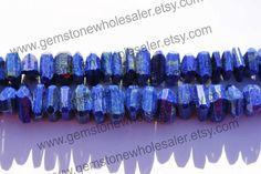 Lapis Lazuli Faceted Nuggets Quality AA / by GemstoneWholesaler
