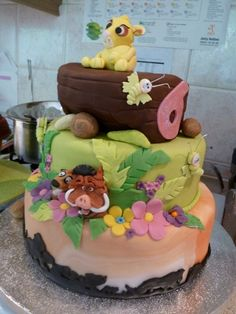 @Katie Horner, Needs a little work... But cut - Lion King Birthday by The West Sussex Cupcake Company, via Flickr