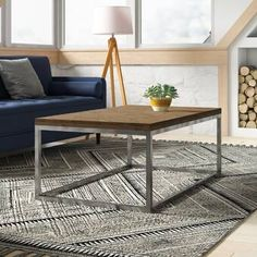 Kaylah Coffee Table & Reviews   AllModern Granite Coffee Table, Concrete Dining Table, Solid Wood Coffee Table, Coffee Table With Storage, Decorating Coffee Tables, Marble Coffee Tables, Contemporary Coffee Table, Modern Coffee Tables, Best Coffee Tables