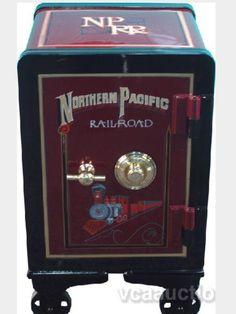 Railroad safe Antique Safe, Safe Door, Safe Vault, Vault Doors, Deposit Box, Banks Vault, Cash Box, Man Cave Garage, Old Doors