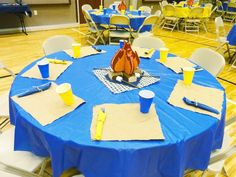 Blue and Gold Banquet and Pinewood Derby ideas