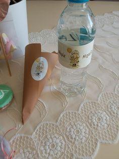 Για βαπτιση με θεμα Sara Kay!!! Sara Kay, Water Bottle, Drinks, Drinking, Beverages, Water Bottles, Drink, Beverage
