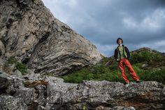 Adam Ondra in Flatanger Norway