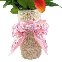 Shell Stitch Vase - A free Crochet pattern from jpfun.com.